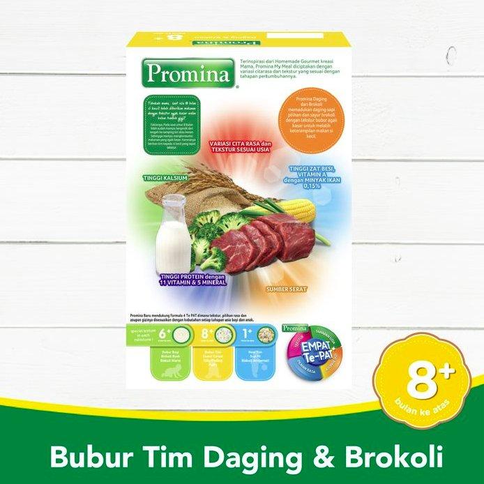 Promina Bubur Tim +8 Daging & Brokoli Box