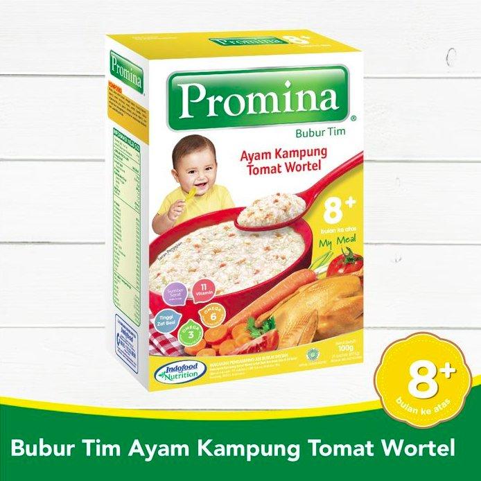 Promina Bubur Tim +8 Ayam Kampung Tomat Wortel Box