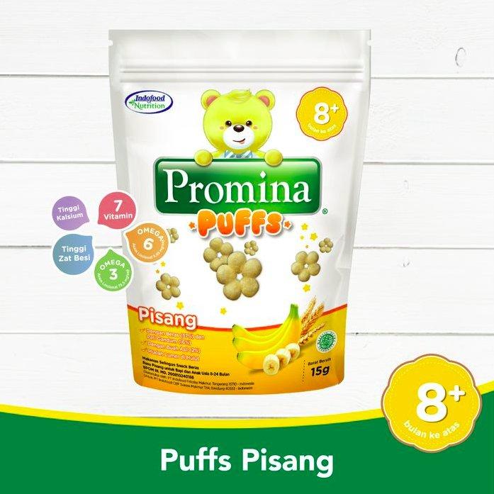 Promina Puffs Pisang 15gr