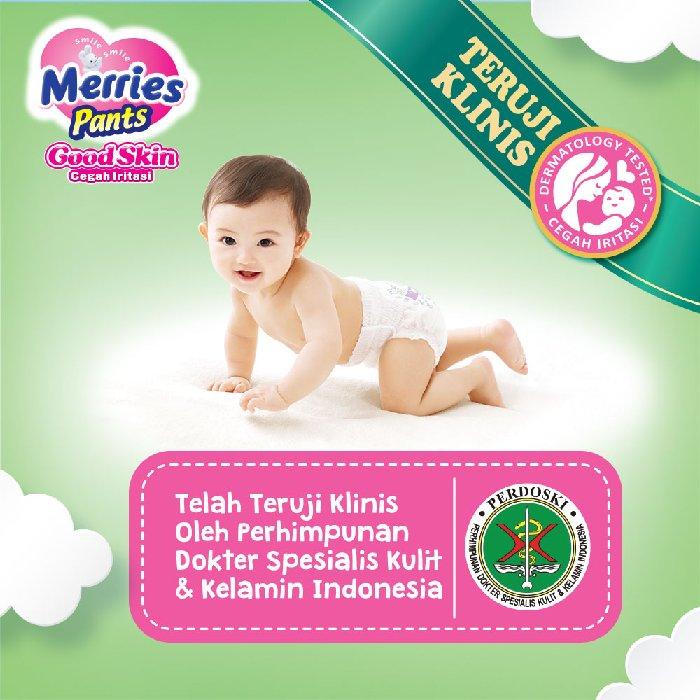Merries Pants Good Skin M22 Ekonomis - Diapers Popok Celana Sekali Pakai