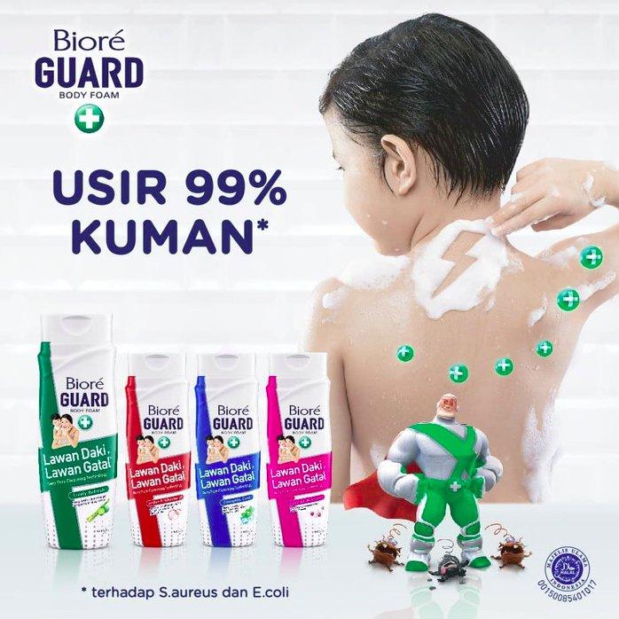 Sabun Mandi Biore Body Foam Lively 450ml