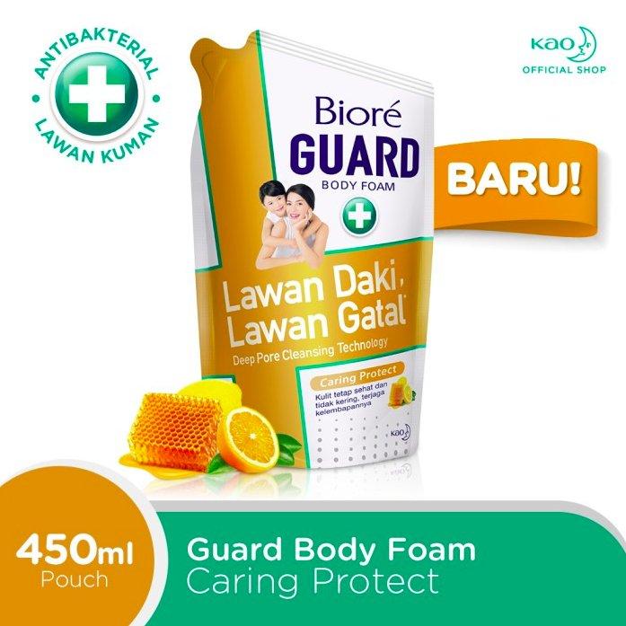 Sabun Mandi Biore Body Foam Caring Protect 450ml