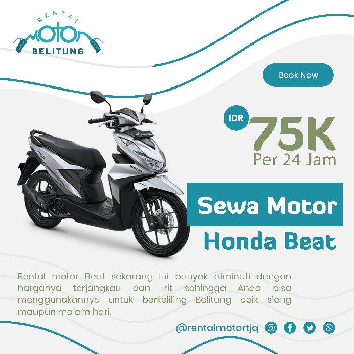 Sewa Motor Honda Beat